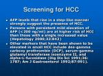 screening for hcc3
