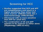 screening for hcc4