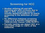 screening for hcc5