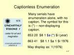 captionless enumeration47