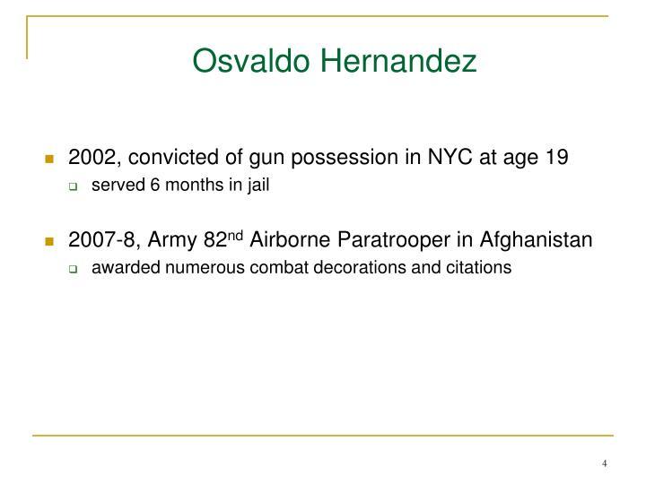 Osvaldo Hernandez