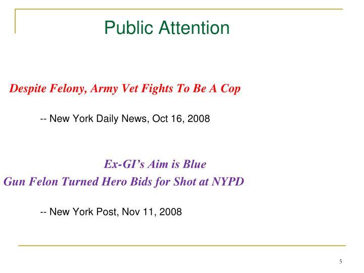 Public Attention