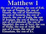 matthew 147