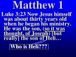 matthew 153