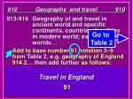 910 geography and travel 91013