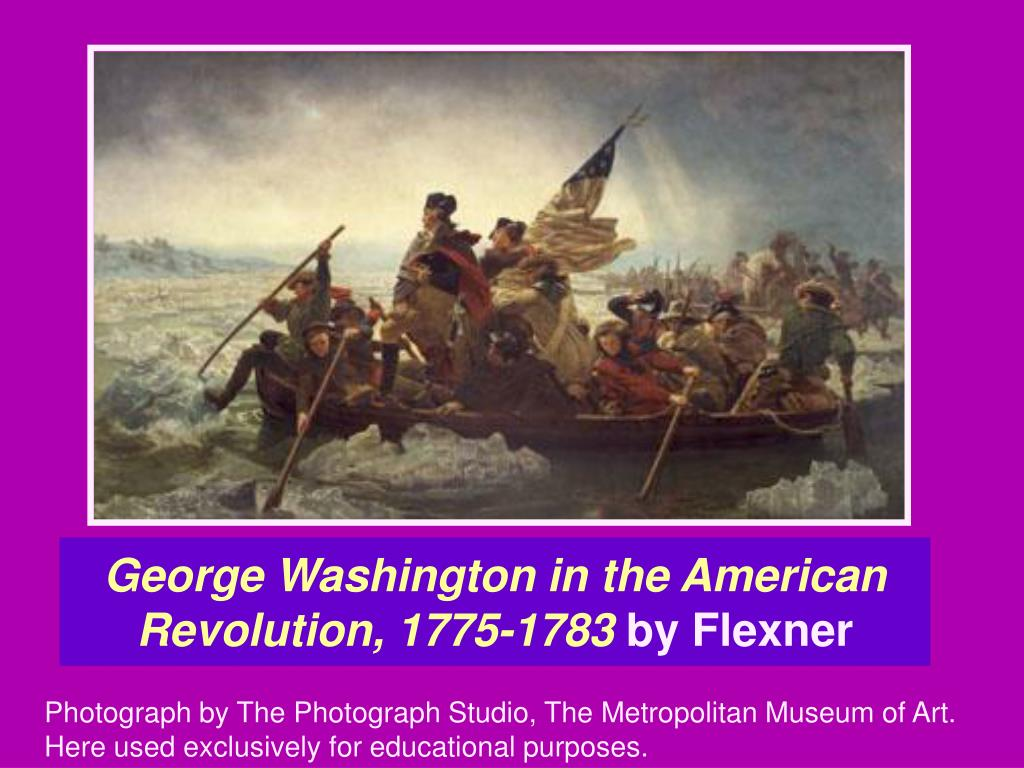 George Washington in the American Revolution, 1775-1783