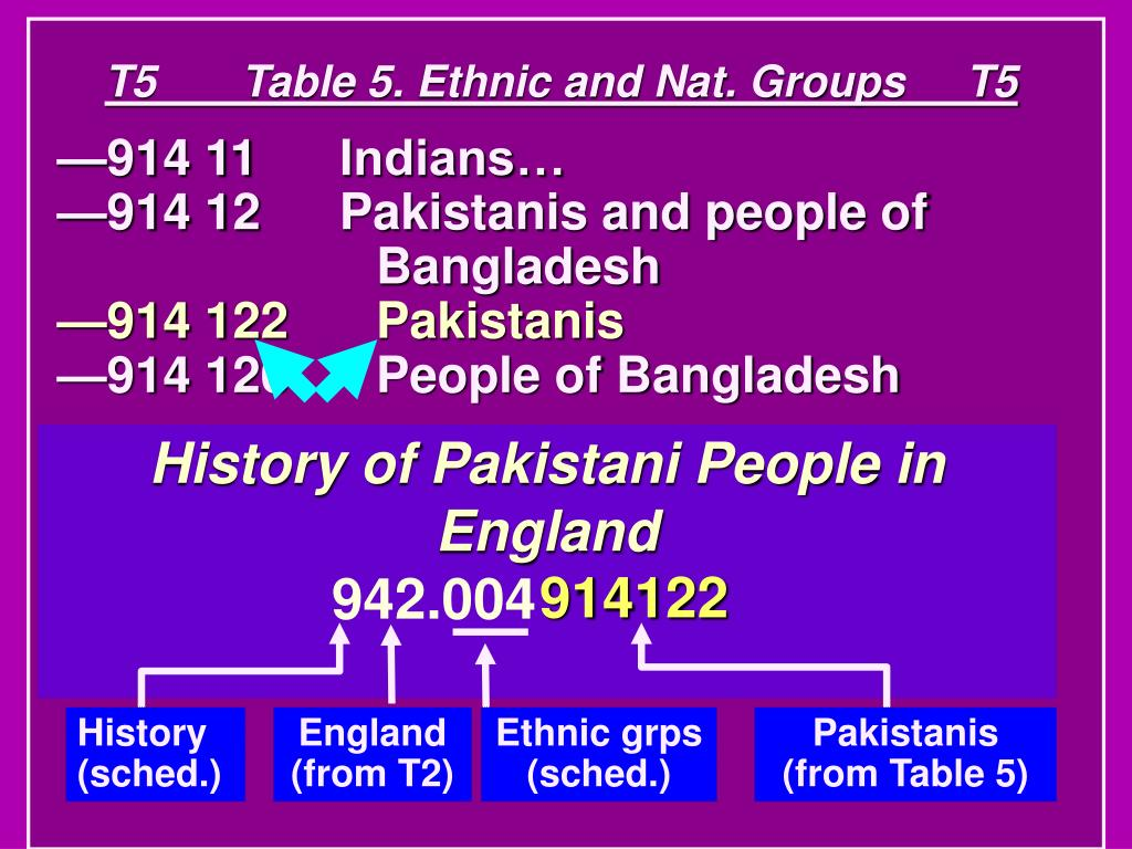 T5       Table 5. Ethnic and Nat. Groups     T5