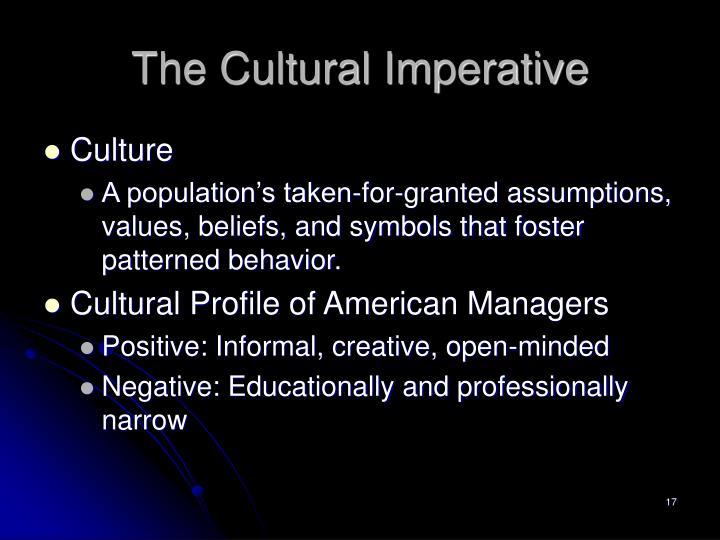 cultural profile