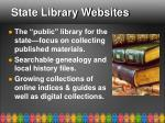 state library websites