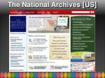 the national archives us