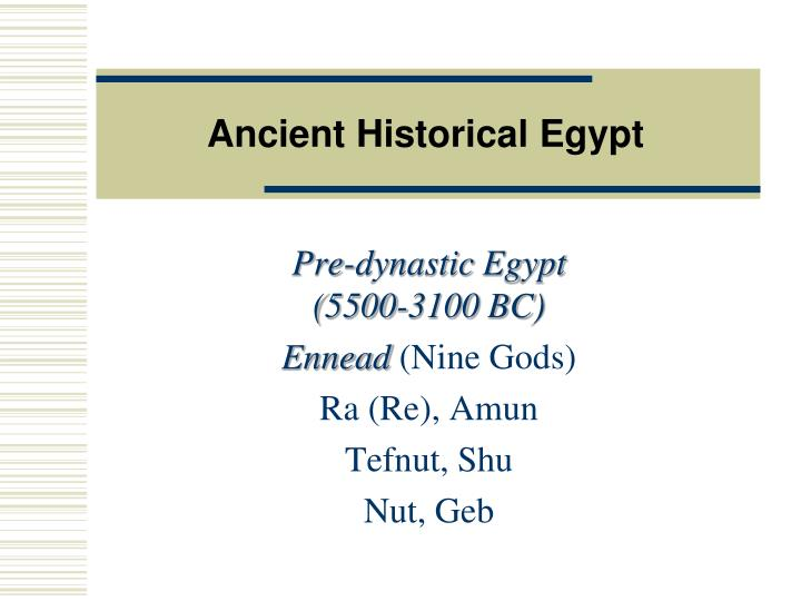 Ancient historical egypt