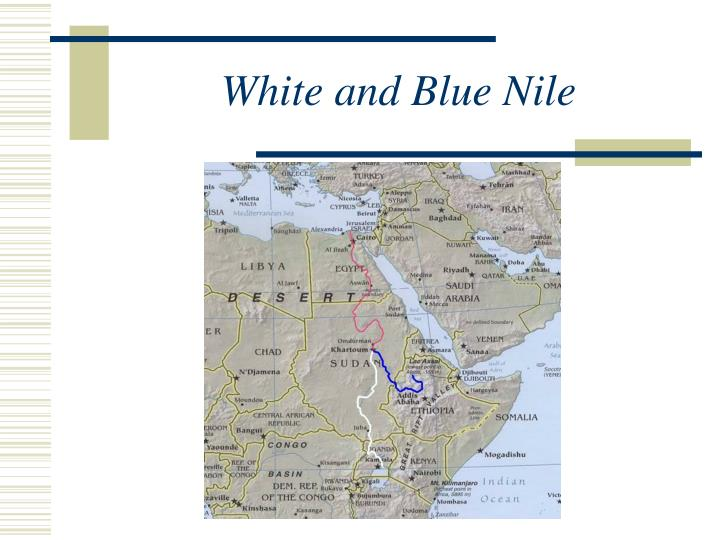White and Blue Nile