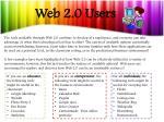 web 2 0 users