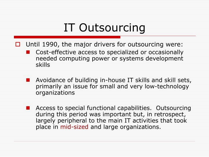 it outsourcing 3 essay