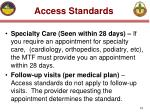 access standards19