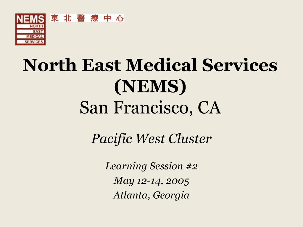 north east medical services nems san francisco ca l.