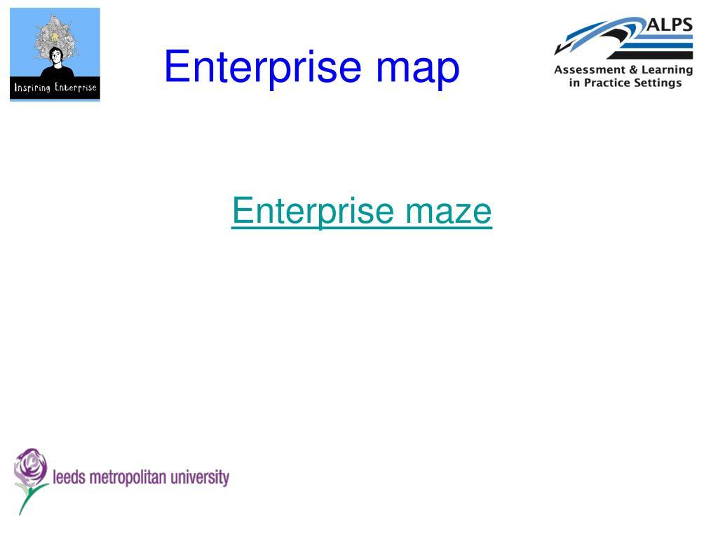 Enterprise map