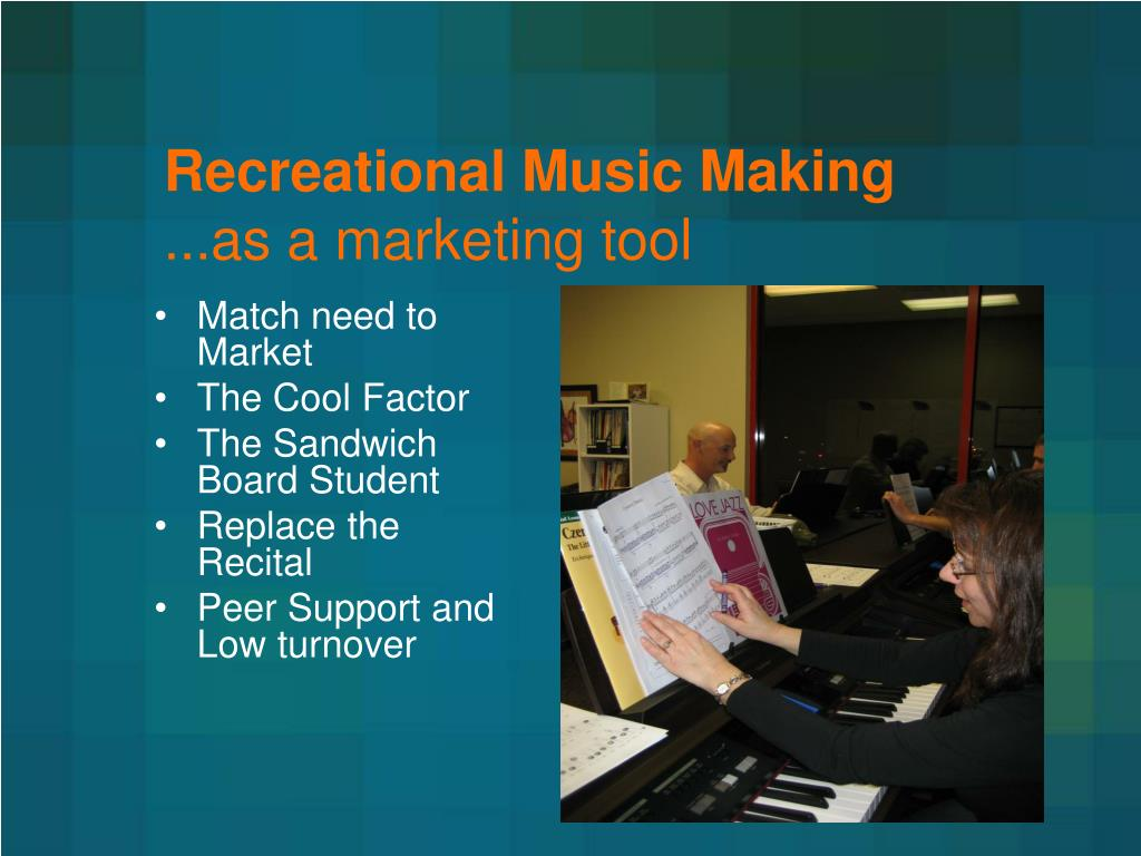 Recreational Music Making