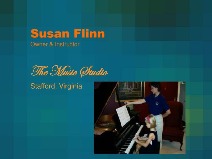 Susan flinn owner instructor
