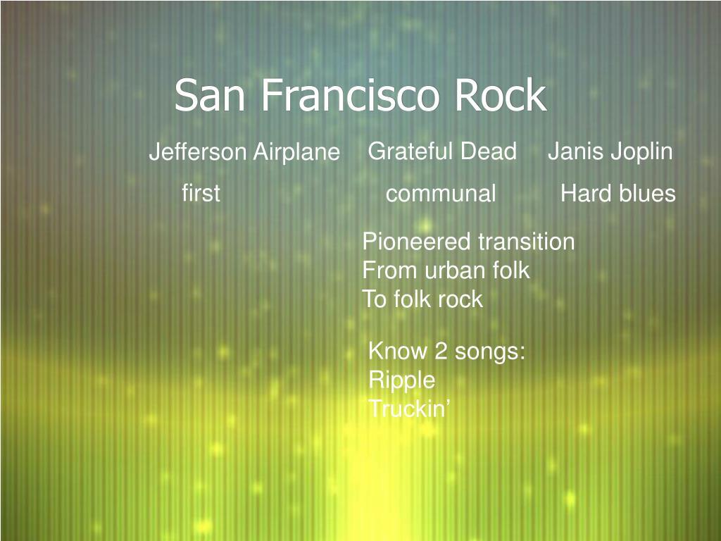 San Francisco Rock