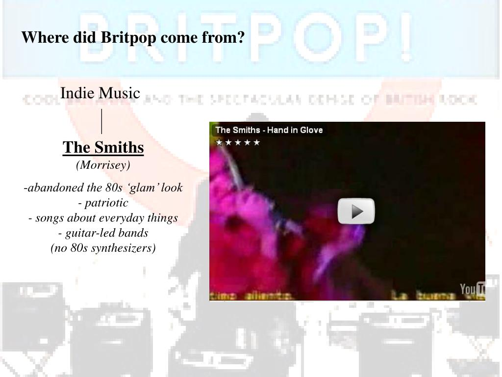 Where did Britpop come from?
