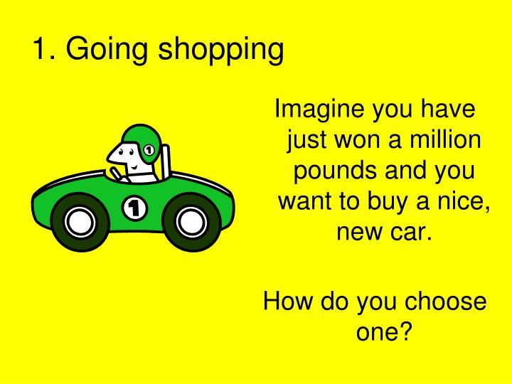 1 going shopping