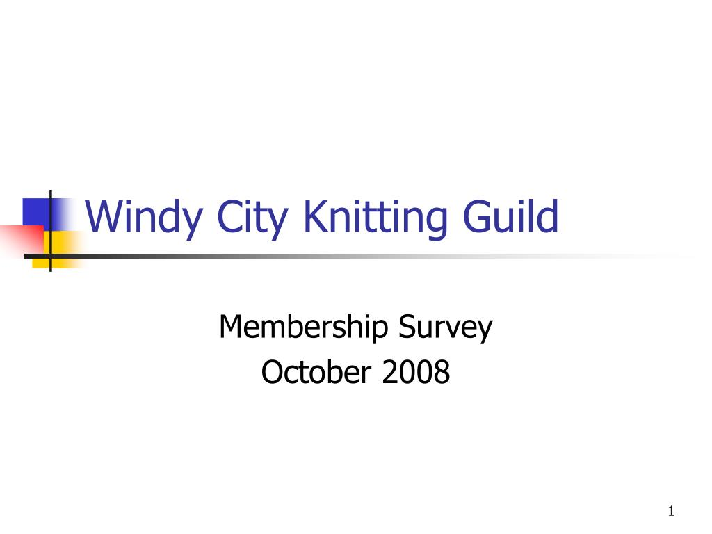 windy city knitting guild