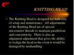 knitting head24
