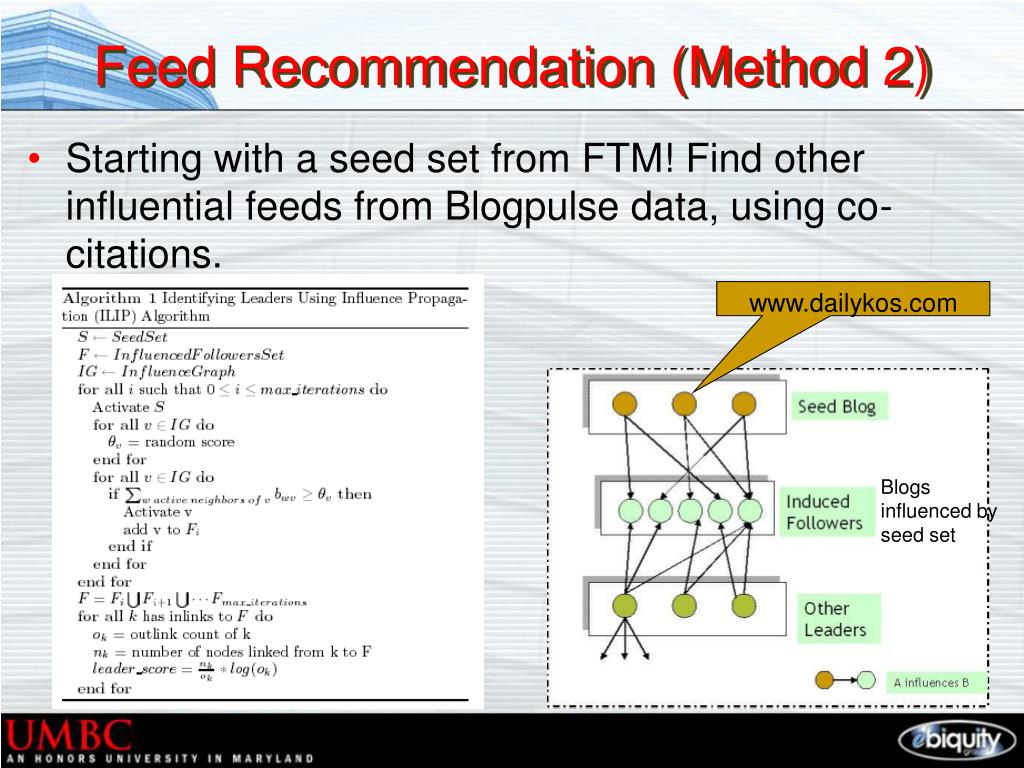Feed Recommendation (Method 2)