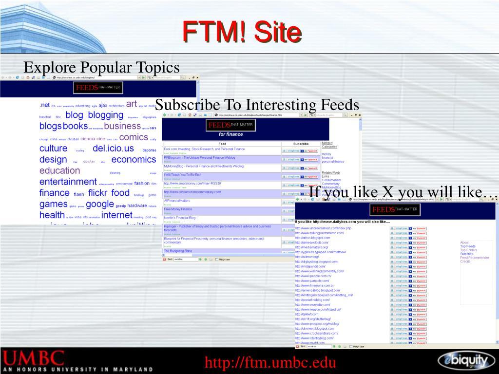 FTM! Site