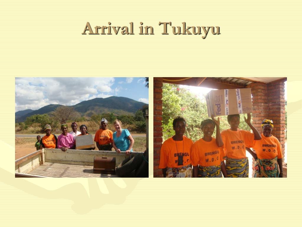 Arrival in Tukuyu