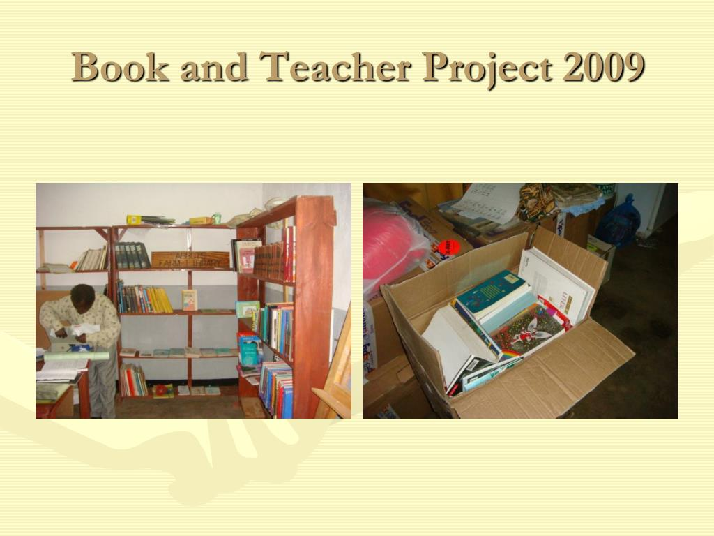 Book and Teacher Project 2009