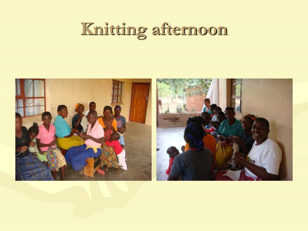 Knitting afternoon