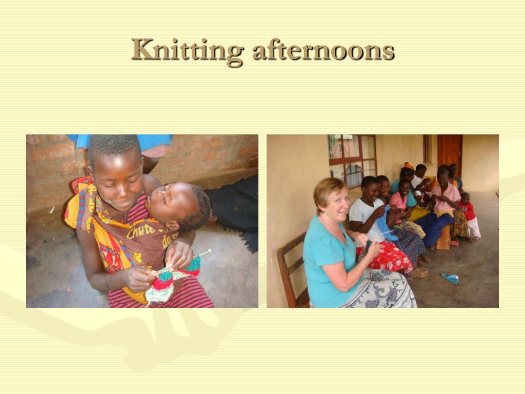 Knitting afternoons