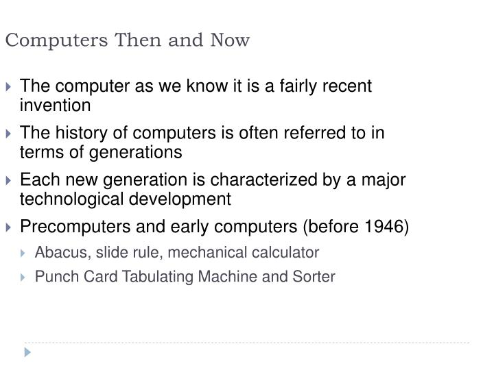Ppt Introduction To The World Of Computers Powerpoint