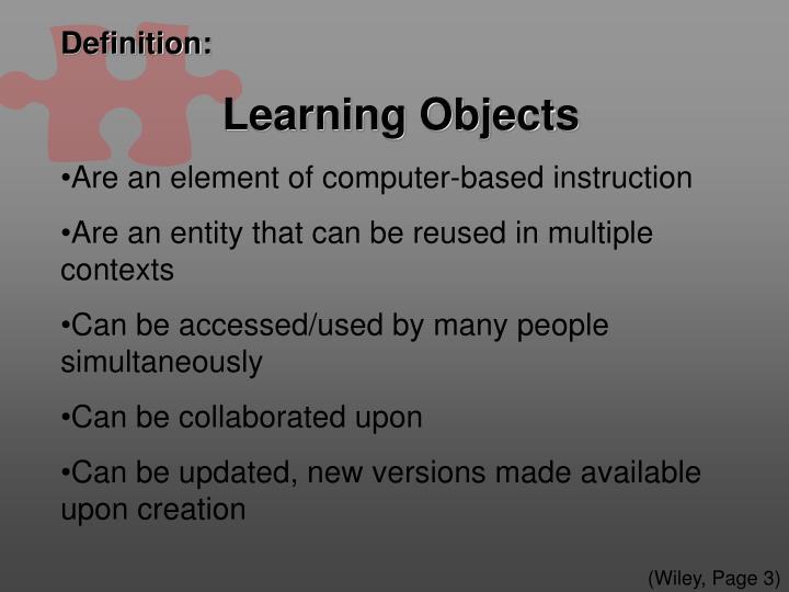 Ppt Web Based Learning Objects Public Producer Case Task 1