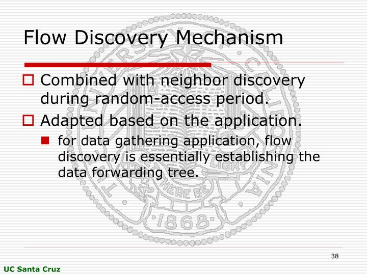 Flow Discovery Mechanism