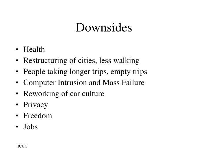 Downsides