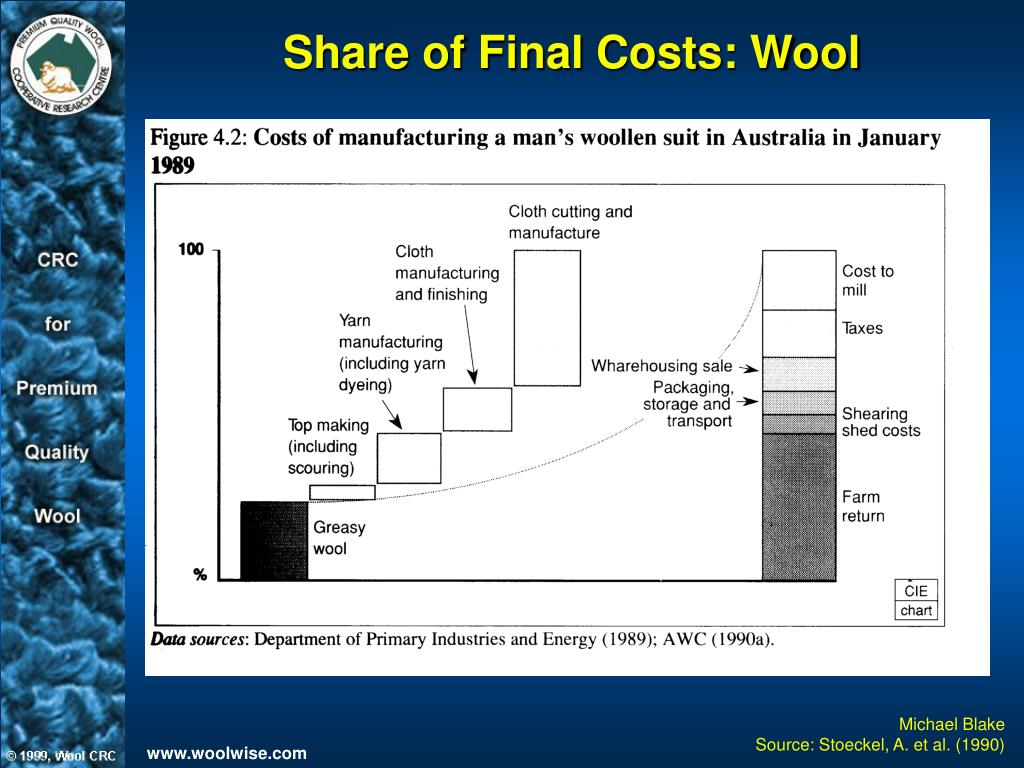 Share of Final Costs: Wool