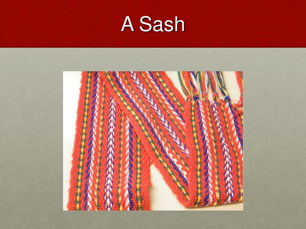 A Sash