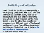 re thinking multiculturalism7