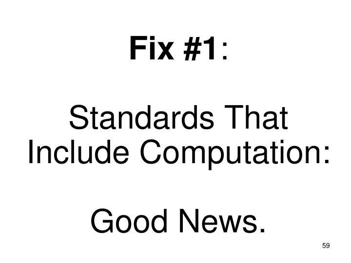 Fix #1