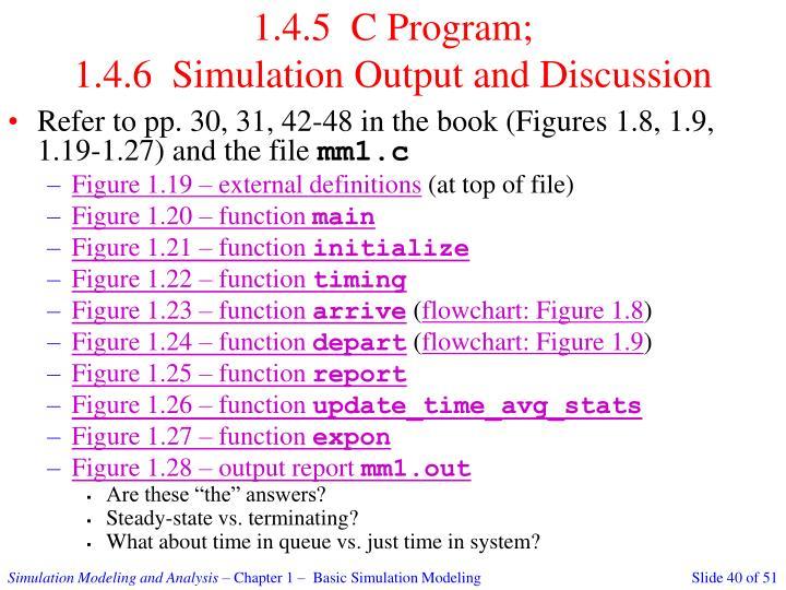 1.4.5  C Program;