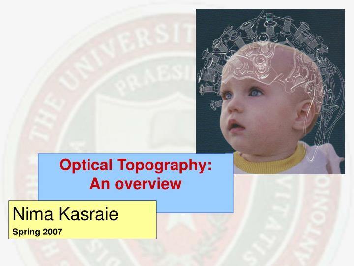 optical topography an overview