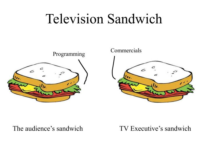 Television Sandwich