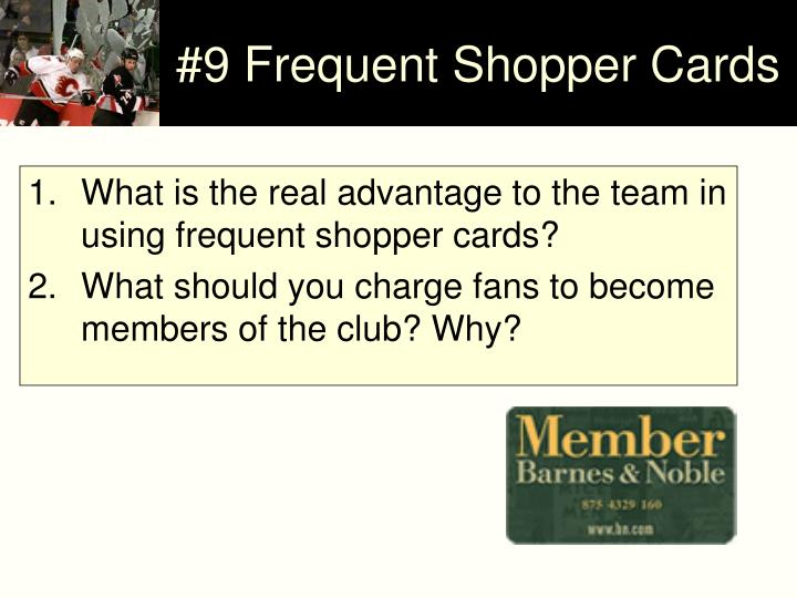 frequent shopper program essay Essays tagged: frequent shopper program marketing research - kudler fine foods - justify the importance of marketing research in the udler's marketing strategies are based on three different promotions including: expanding services, frequent shopper program, and increased efficiency.