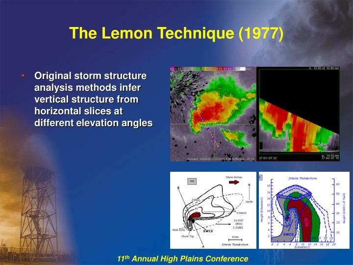 The Lemon Technique (1977)