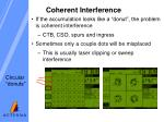 coherent interference