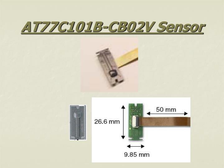 AT77C101B-CB02V Sensor