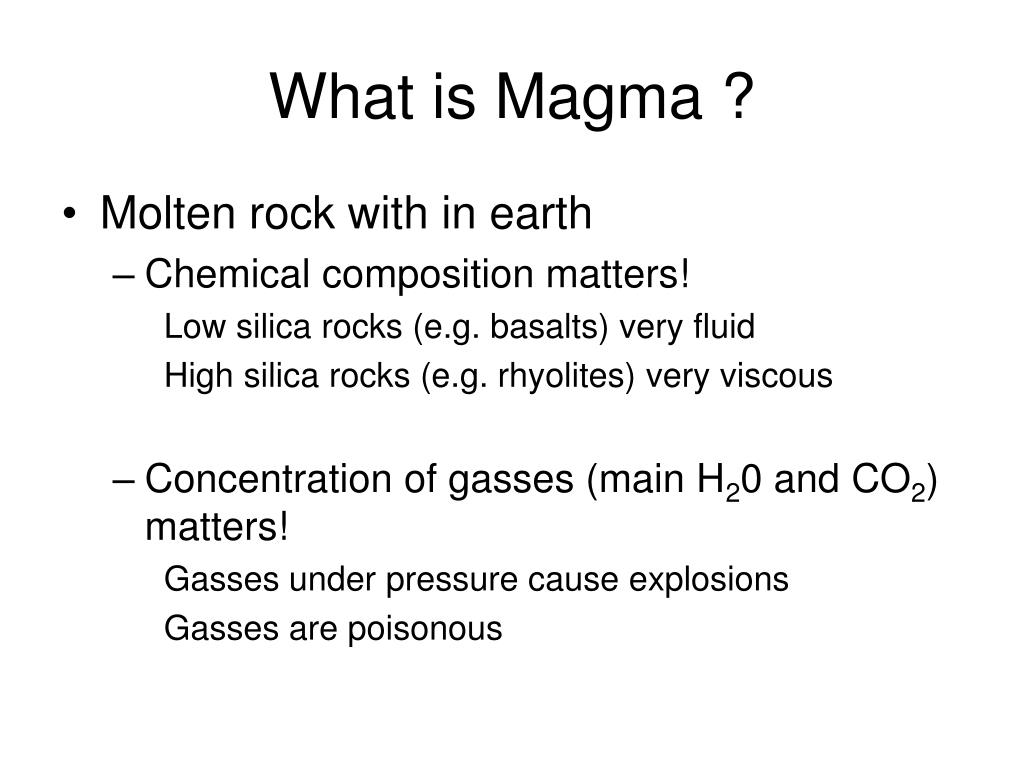 What is Magma ?